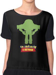 Buzz Lightyear: To Infinity & Beyond - Coloured Chiffon Top