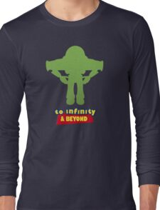 Buzz Lightyear: To Infinity & Beyond - Coloured Long Sleeve T-Shirt