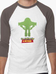 Buzz Lightyear: To Infinity & Beyond - Coloured Men's Baseball ¾ T-Shirt