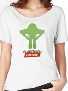 Buzz Lightyear: To Infinity & Beyond - Coloured Women's Relaxed Fit T-Shirt