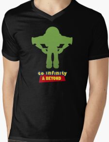 Buzz Lightyear: To Infinity & Beyond - Coloured Mens V-Neck T-Shirt