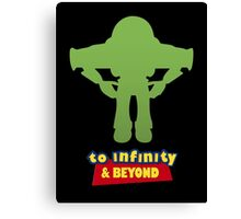 Buzz Lightyear: To Infinity & Beyond - Coloured Canvas Print
