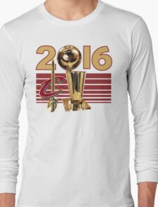 Cleveland Cavaliers Champion NBA 2016 Long Sleeve T-Shirt