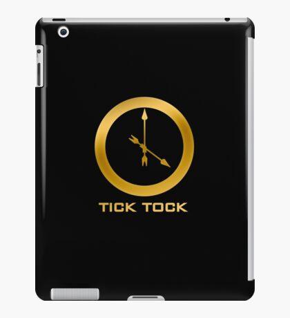 Catching Fire Tick Tock Shirt  iPad Case/Skin