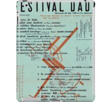 Dada Poster - Creative Commons iPad Case/Skin
