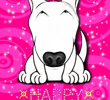 English Bull Terrier Happy Birthday  by Sookiesooker