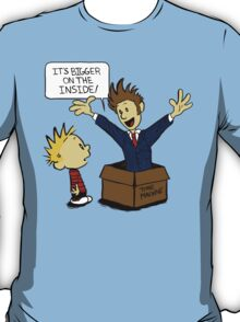 Calvin and the Doctor T-Shirt