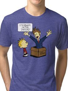 Calvin and the Doctor Tri-blend T-Shirt