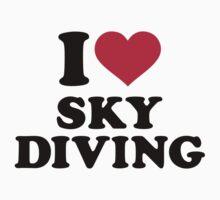 I love Skydiving Baby Tee