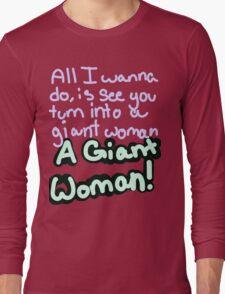 Steven Universe Opal Giant Woman Long Sleeve T-Shirt