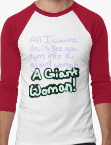 Steven Universe Opal Giant Woman Men's Baseball ¾ T-Shirt