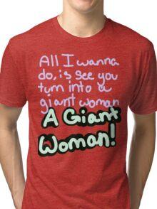 Steven Universe Opal Giant Woman Tri-blend T-Shirt