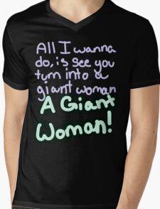 Steven Universe Opal Giant Woman Mens V-Neck T-Shirt