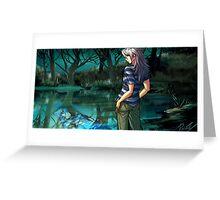 Bakura Greeting Card