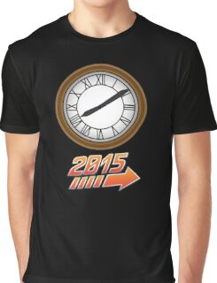 Back to the Future Clock 2015 Graphic T-Shirt