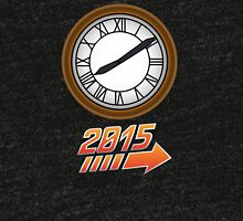 Back to the Future Clock 2015 Tri-blend T-Shirt