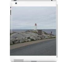 Peggy's Cove landmark lighthouse iPad Case/Skin