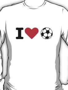 I love soccer ball T-Shirt