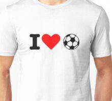 I love soccer ball Unisex T-Shirt