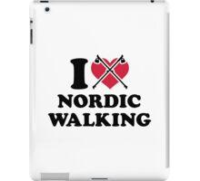 I love nordic walking iPad Case/Skin