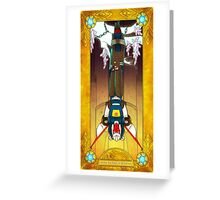 The Hanged Tracks Greeting Card