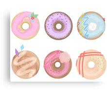 Mlp Doughnuts Canvas Print