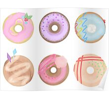 Mlp Doughnuts Poster
