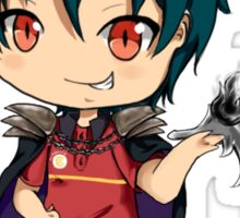 chibi devil is a part timer  Sticker