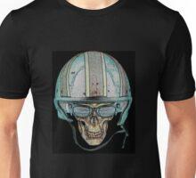 Skull Undead Demon Biker Helmet Unisex T-Shirt
