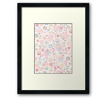 Dreamy Sweets Framed Print