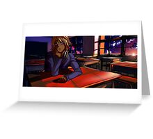 After School Marik Greeting Card