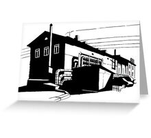Industrial 1 Greeting Card