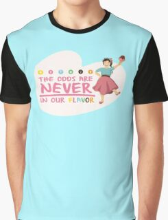 The Odds are NEVER in Our Flavor Graphic T-Shirt