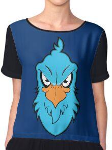 Angry Eagle Chiffon Top