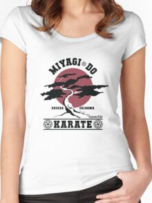 Karate Kid - Miyagi Do Women's Fitted Scoop T-Shirt