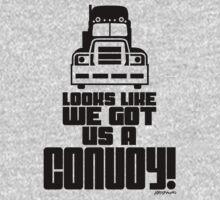 Looks Like We Got Us A Convoy! One Piece - Long Sleeve