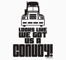 Looks Like We Got Us A Convoy! Baby Tee
