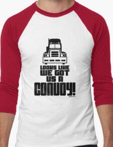 Looks Like We Got Us A Convoy! Men's Baseball ¾ T-Shirt
