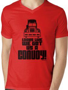 Looks Like We Got Us A Convoy! Mens V-Neck T-Shirt