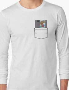 Mario 2 - NES Pocket Series Long Sleeve T-Shirt