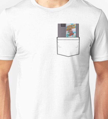 Mario 2 - NES Pocket Series Unisex T-Shirt