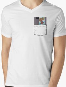 Mario 2 - NES Pocket Series Mens V-Neck T-Shirt