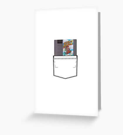 Mario 2 - NES Pocket Series Greeting Card