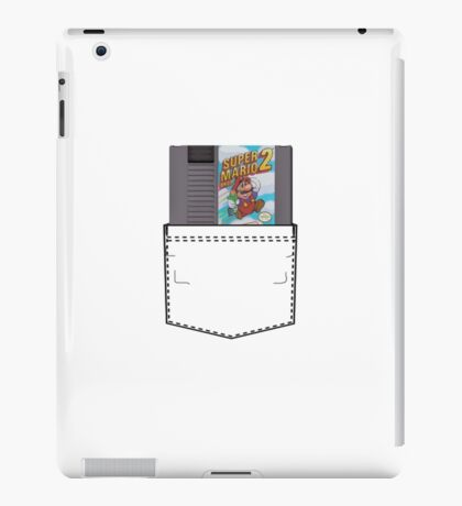 Mario 2 - NES Pocket Series iPad Case/Skin