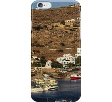 The New Harbour in Tourlos iPhone Case/Skin