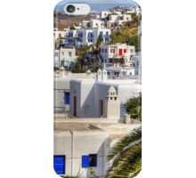 Mykonos Boxes iPhone Case/Skin
