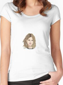 Hanna Marin  Women's Fitted Scoop T-Shirt
