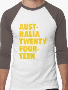 EverySaturday Supporting the Socceroos Men's Baseball ¾ T-Shirt