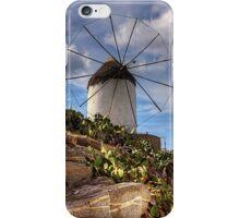 Windmill in a Pricky Pear field iPhone Case/Skin
