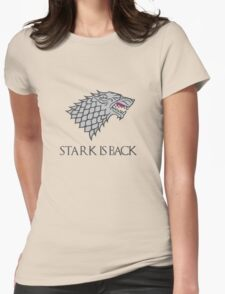 STARK IS BACK items ! Womens Fitted T-Shirt